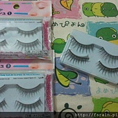 Daiso High Grade Silver Line Fake Lashes