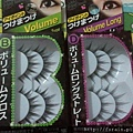 Daiso Fake Eyelash Volume Type B and Volume Long Type D-2