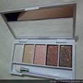Daiso Ellefar Glitter Eyeshadow Palette-Brown-08