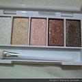 Daiso Ellefar Glitter Eyeshadow Palette-Brown-09