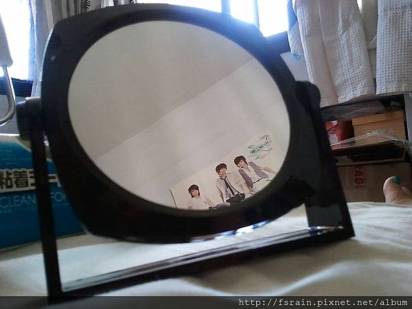 Daiso Both Sides Mirror-Black-03