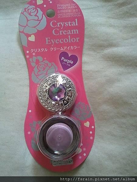 Daiso Crystal Cream Eye Color-Purple-04