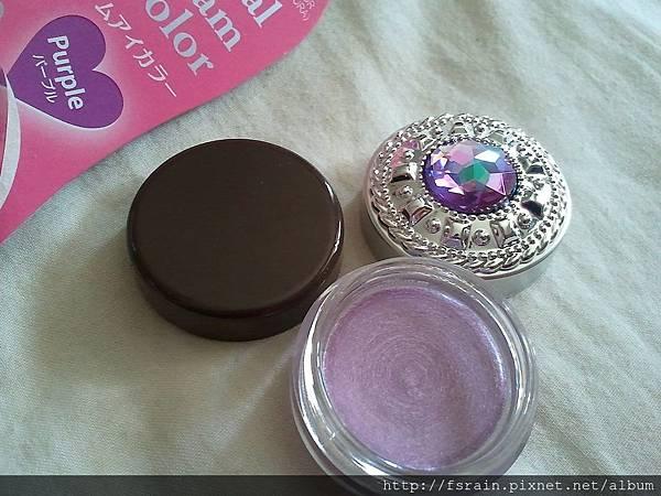 Daiso Crystal Cream Eye Color-Purple-13