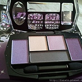 Daiso Diamond Eyeshadow & Eyebrow Palette-Purple-06