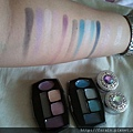 Daiso Diamond Eyeshadow & Eyebrow Palette-Blue&Purple-swatch-01
