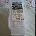 Daiso A4 Half Size Tray & Sukkiri Tray-Translucent-02