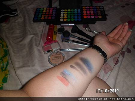 LOTD-Gradation Smokey Blues-Products Used-Swatch-03