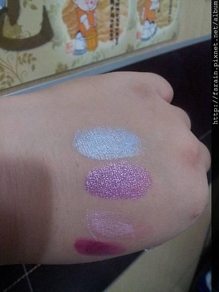 L.A. Colors Lipstick-Breathless Blue Swatch-02