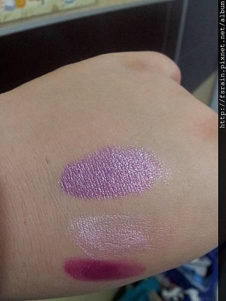 L.A. Colors Lipstick-Grape Crush Swatch-01