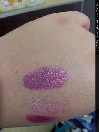 L.A. Colors Lipstick-Grape Crush Swatch-02