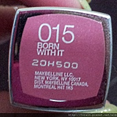 Maybelline ColorSensational Lipstick-015BornWithIt-01