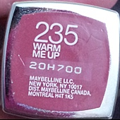 Maybelline ColorSensational Lipstick-235WarmMeUp-01