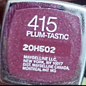 Maybelline ColorSensational Lipstick-415Plum-Tastic-01