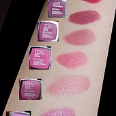 Maybelline ColorSensational Lipsticks Comparison Swatches-02