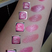 Maybelline ColorSensational Lipsticks Comparison Swatches-03