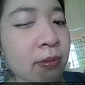 Daiso makeup challenge-applied cream shimmer shadow-02.jpg