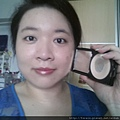 Daiso makeup challenge-b4 apply compact powder.jpg