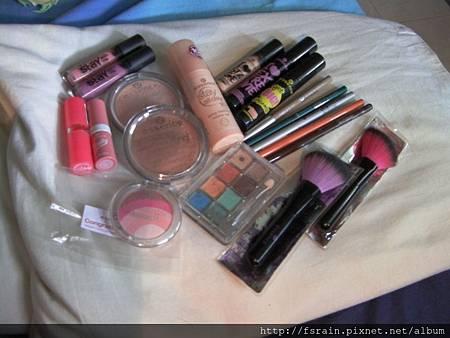 Essence Cosmetics Challenge-Sunny Tropics-Products Used-01.JPG