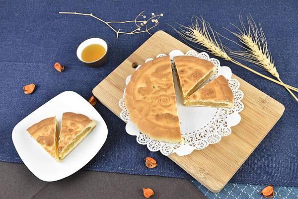 鳳梨椰果大餅