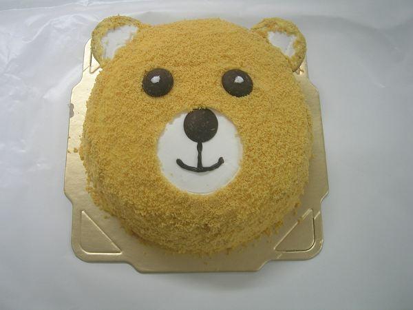 """熊寶寶造型蛋糕  8""""  650 ,  6""""450"""