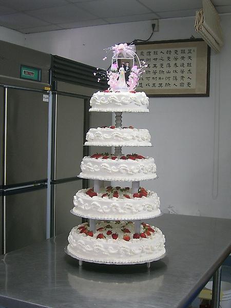 五層結婚蛋糕