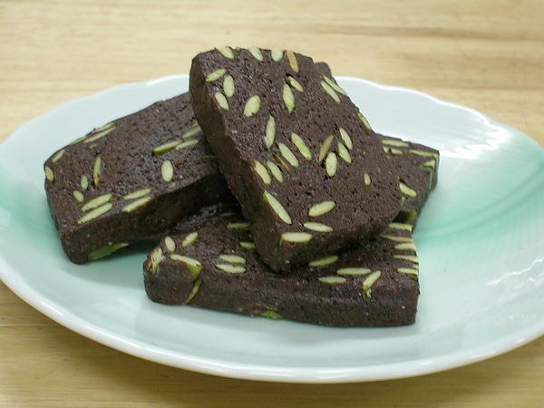 巧克力 南瓜子餅乾