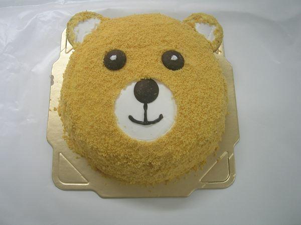 熊寶寶造型蛋糕