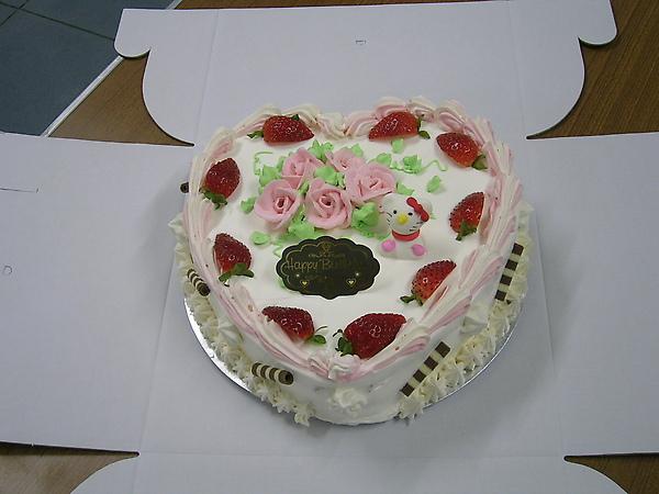心型芋泥蛋糕
