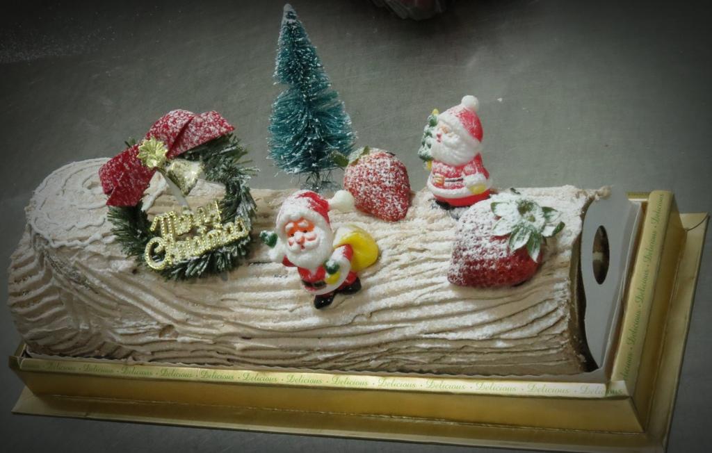 聖誕木塊蛋糕