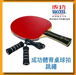 成功體育桌球拍、跳繩