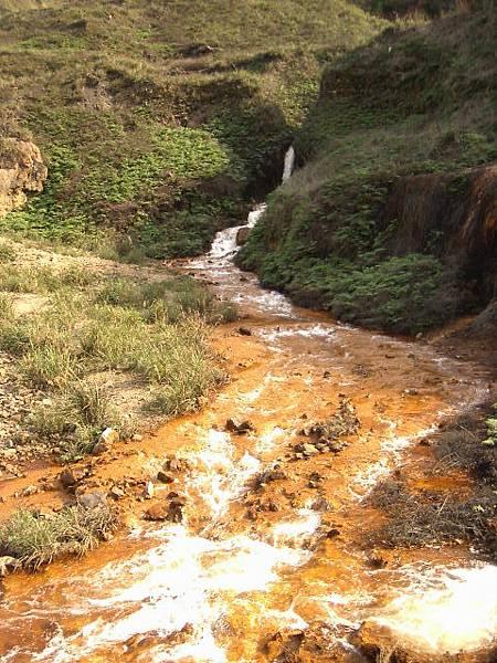 被污染的水道