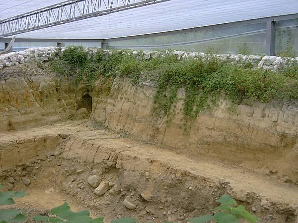 921斷層面開挖