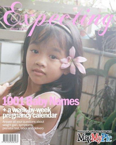 我登上雜誌封面了
