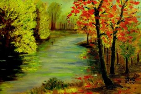 (油畫) :joyceandlin
