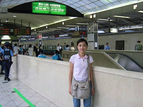東京車站的月台