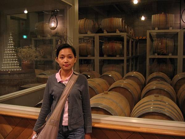 葡萄酒廠的地窖
