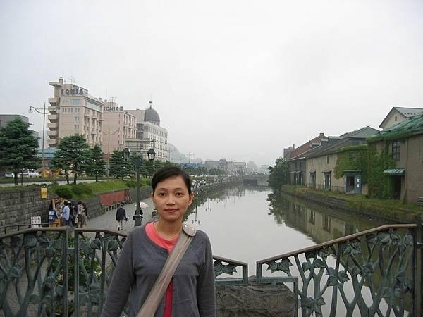 小樽運河(天氣不佳)