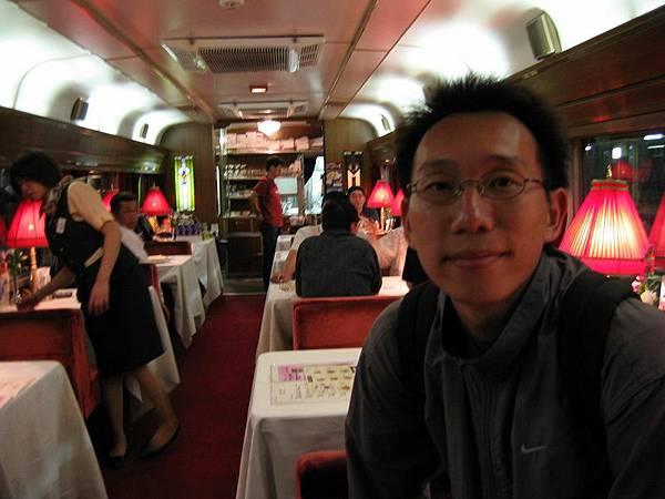 火車上的餐廳