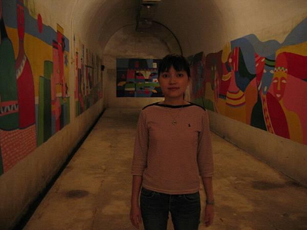 神秘隧道,以前蔣公躲起來的地方
