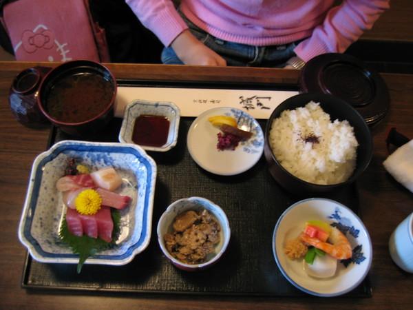 午餐時間:城門  京料理