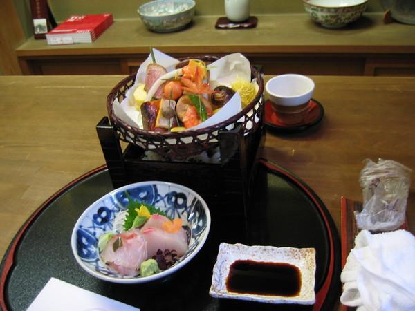 中餐:辰巳屋,有名的京料理
