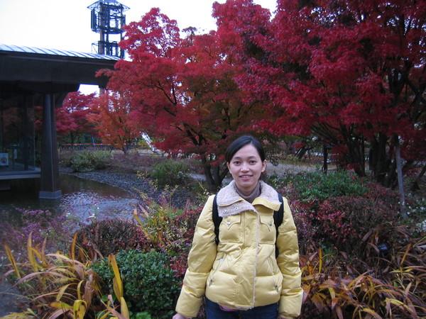 源氏物語博物館的外面