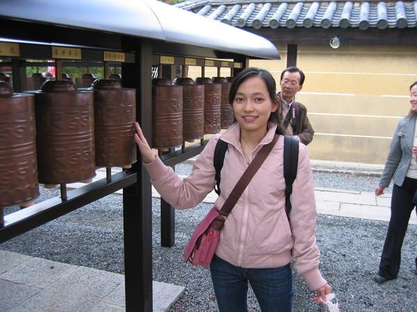 高台寺的外面