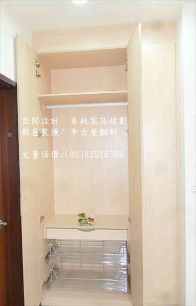 M09  頂天衣櫥收納設計P1060267