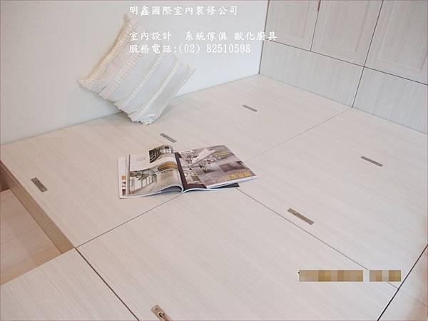 6 臥榻(架高收納)設計-和室設計_明鑫國際室內裝修公司電話82510598