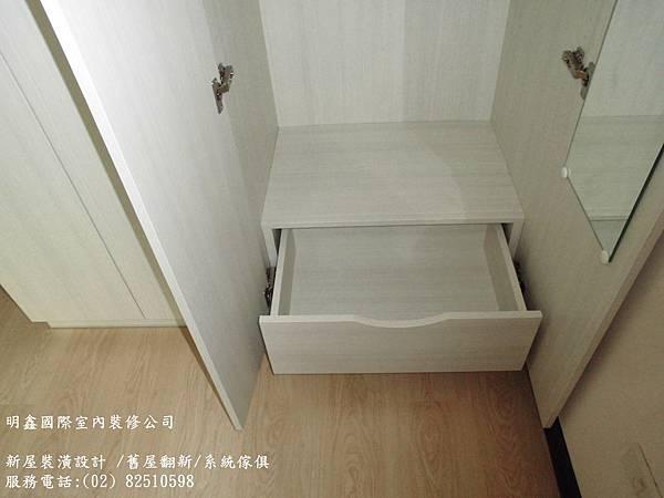 9 臥室收納櫃抽屜設計 CIMG3916
