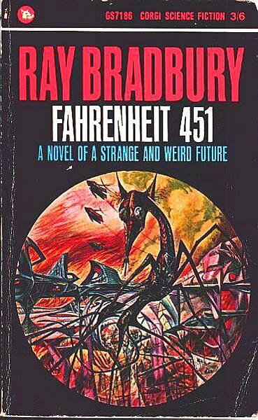 布萊伯利(Ray Brandbury)的科幻小說《華氏451度》(Fahrenheit 451,1953)