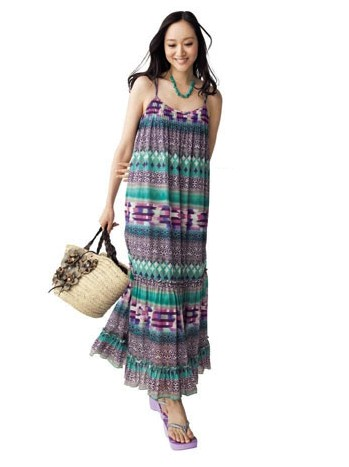 《RIKACO'S 》法國飄逸長版洋裝裙長約115cm 001.jpg