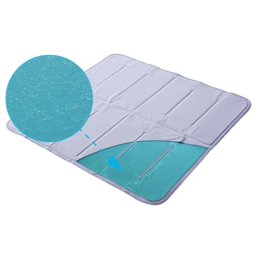 夏用涼爽降溫果凍膠床墊-1
