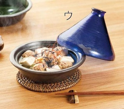 《桃華繪里精選》摩洛哥透明塔金鍋(萬古燒款)